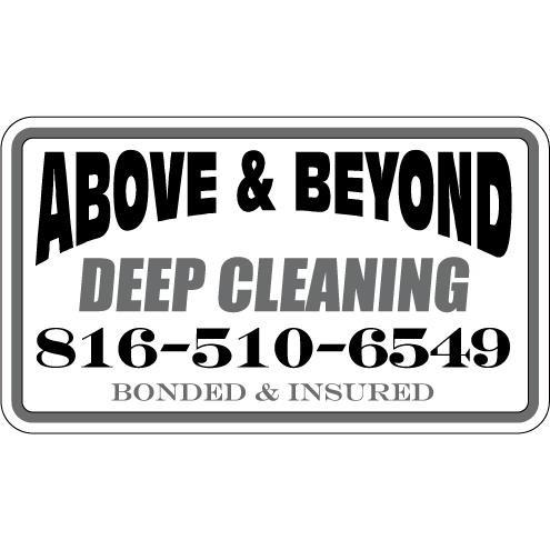 Above and Beyond Deep Cleaning