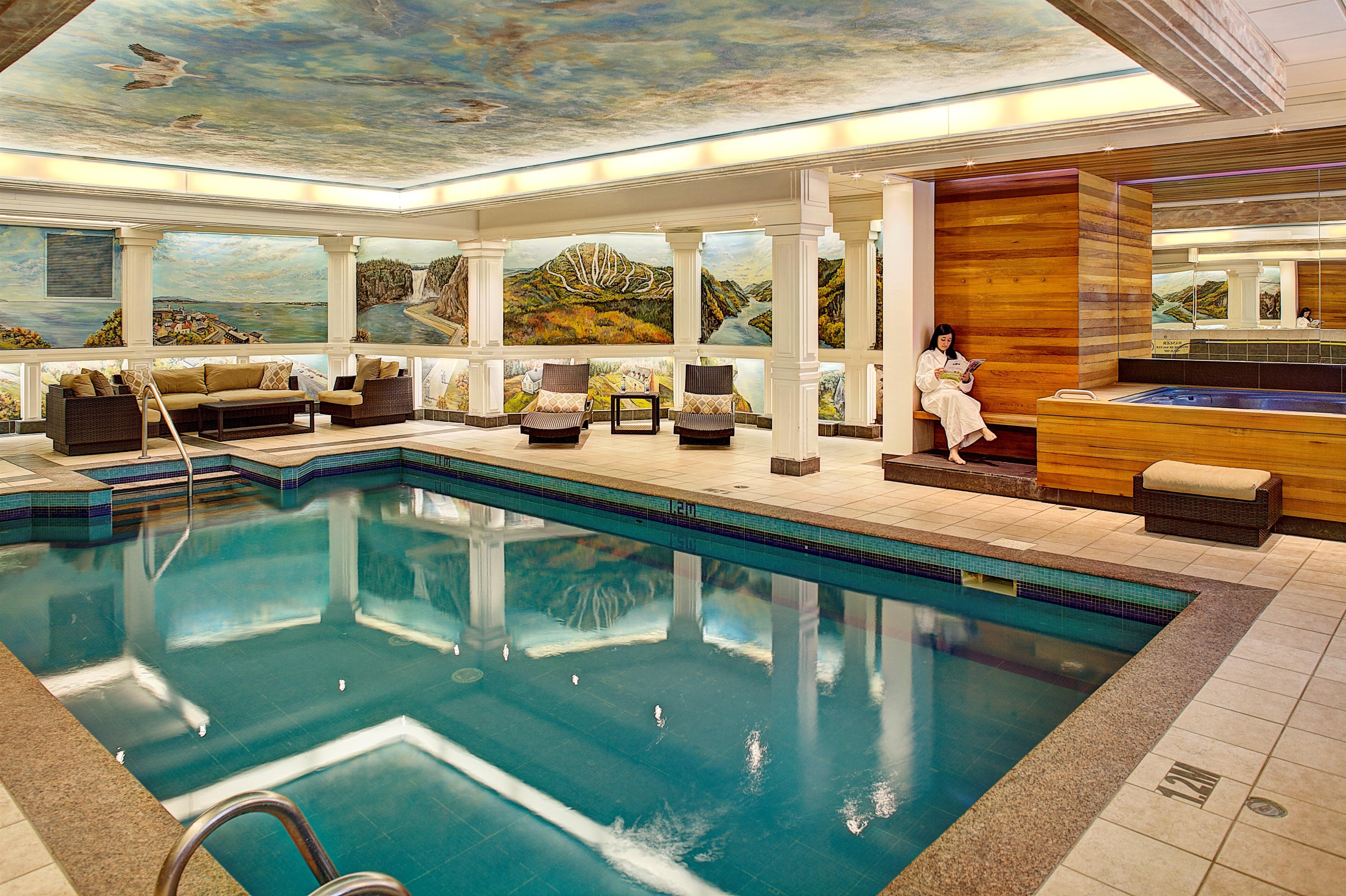 Best Western Plus City Centre/Centre-Ville à Quebec: Indoor Swimming Pool