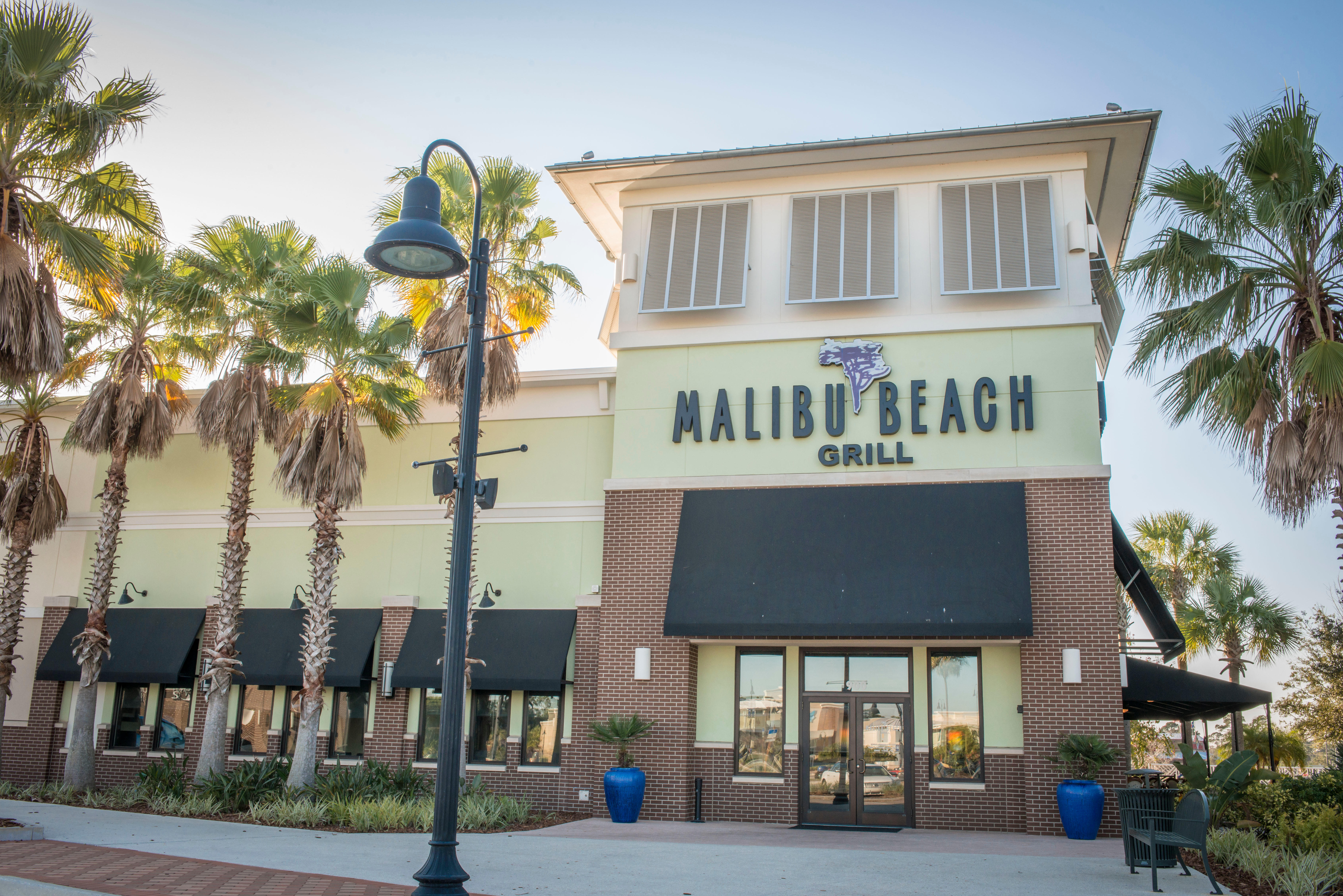 Malibu beach grill port orange fl company profile for Porte orange