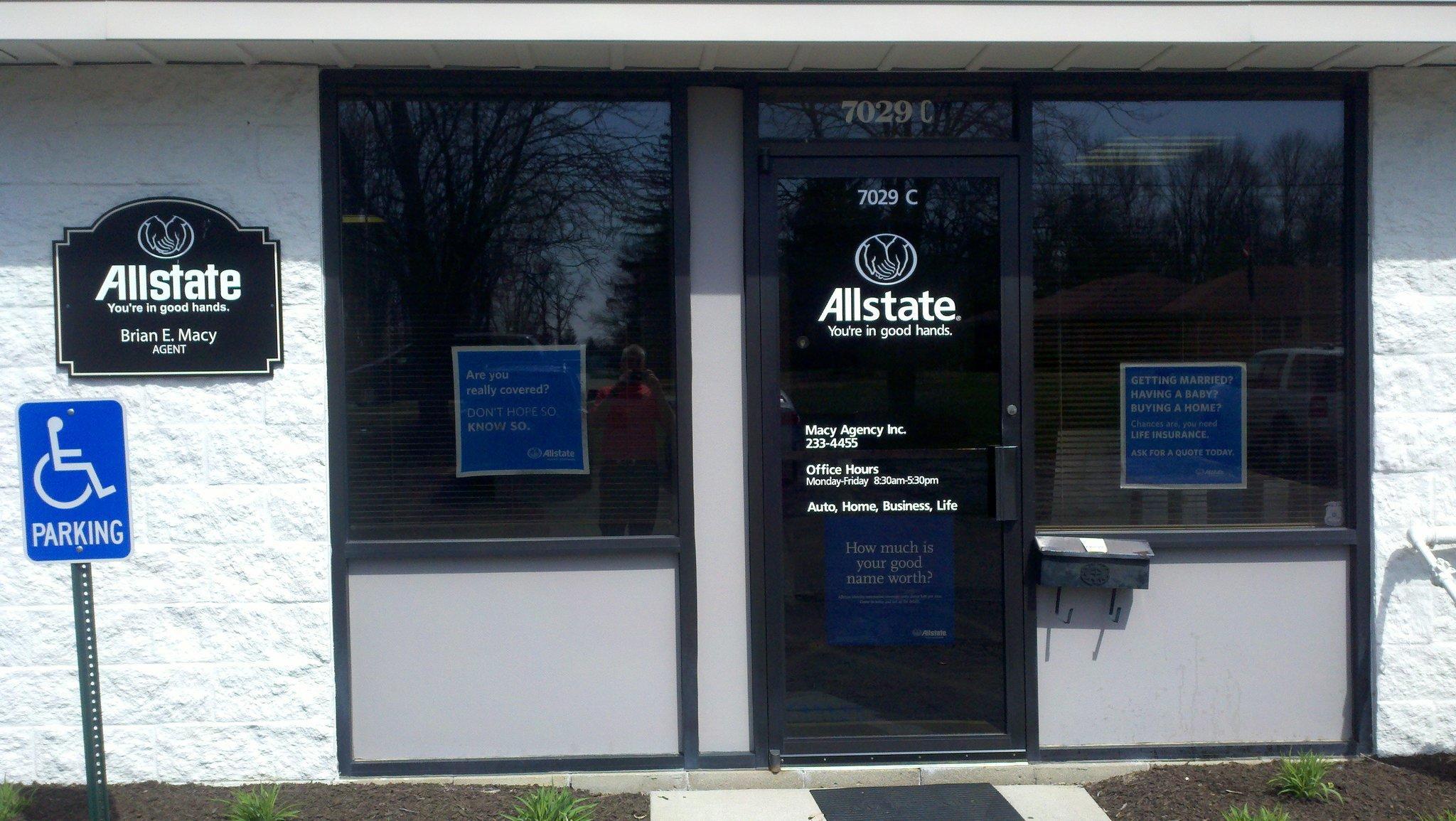 Brian E. Macy: Allstate Insurance image 1