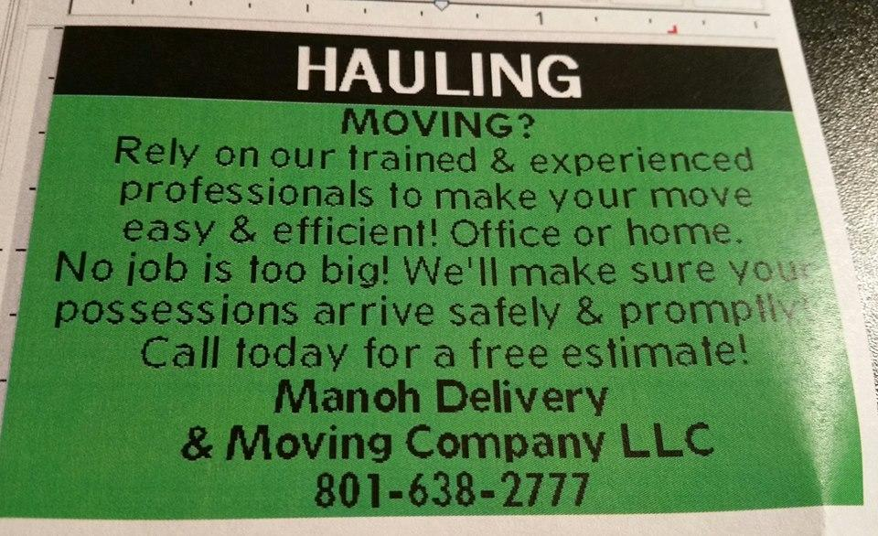 Marnoh Delivery And Moving Company image 0