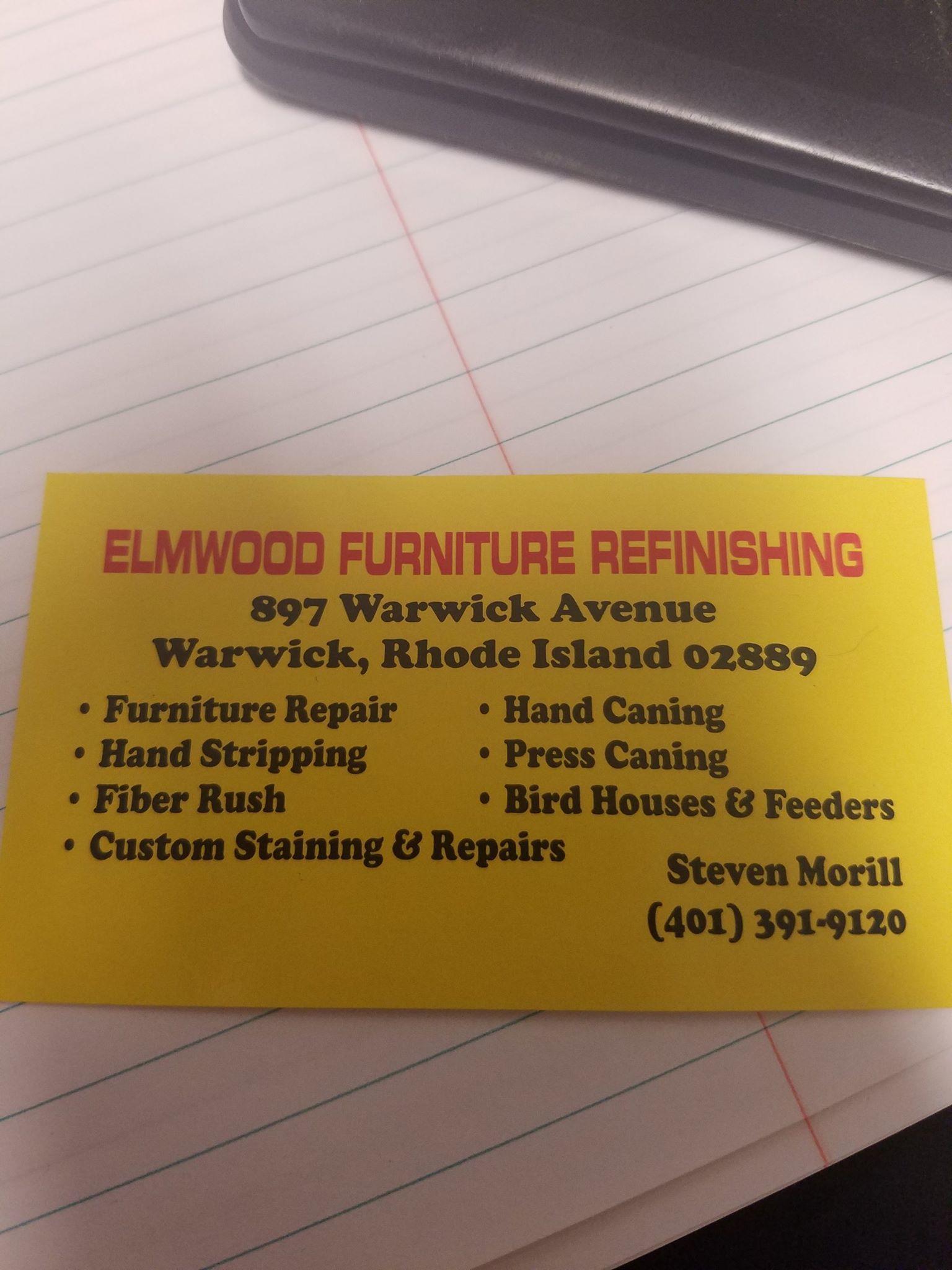 Wonderful Elmwood Furniture Refinishing 897 Warwick Ave. Warwick, RI Furniture Stores    MapQuest