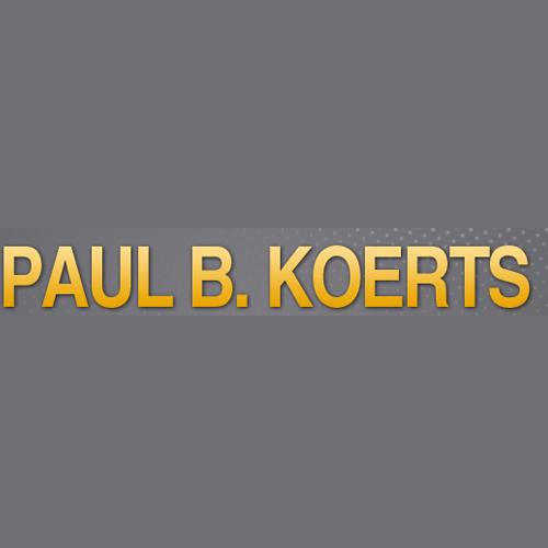 Paul B. Koerts Professional Land Surveyor