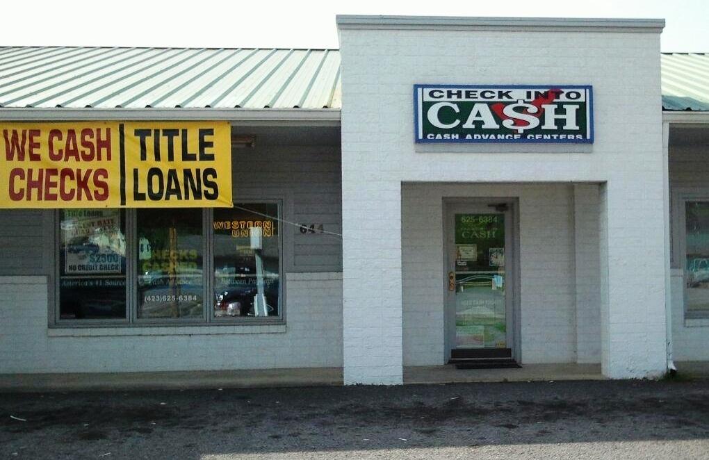 Check Into Cash In Newport Tn 423 625 6