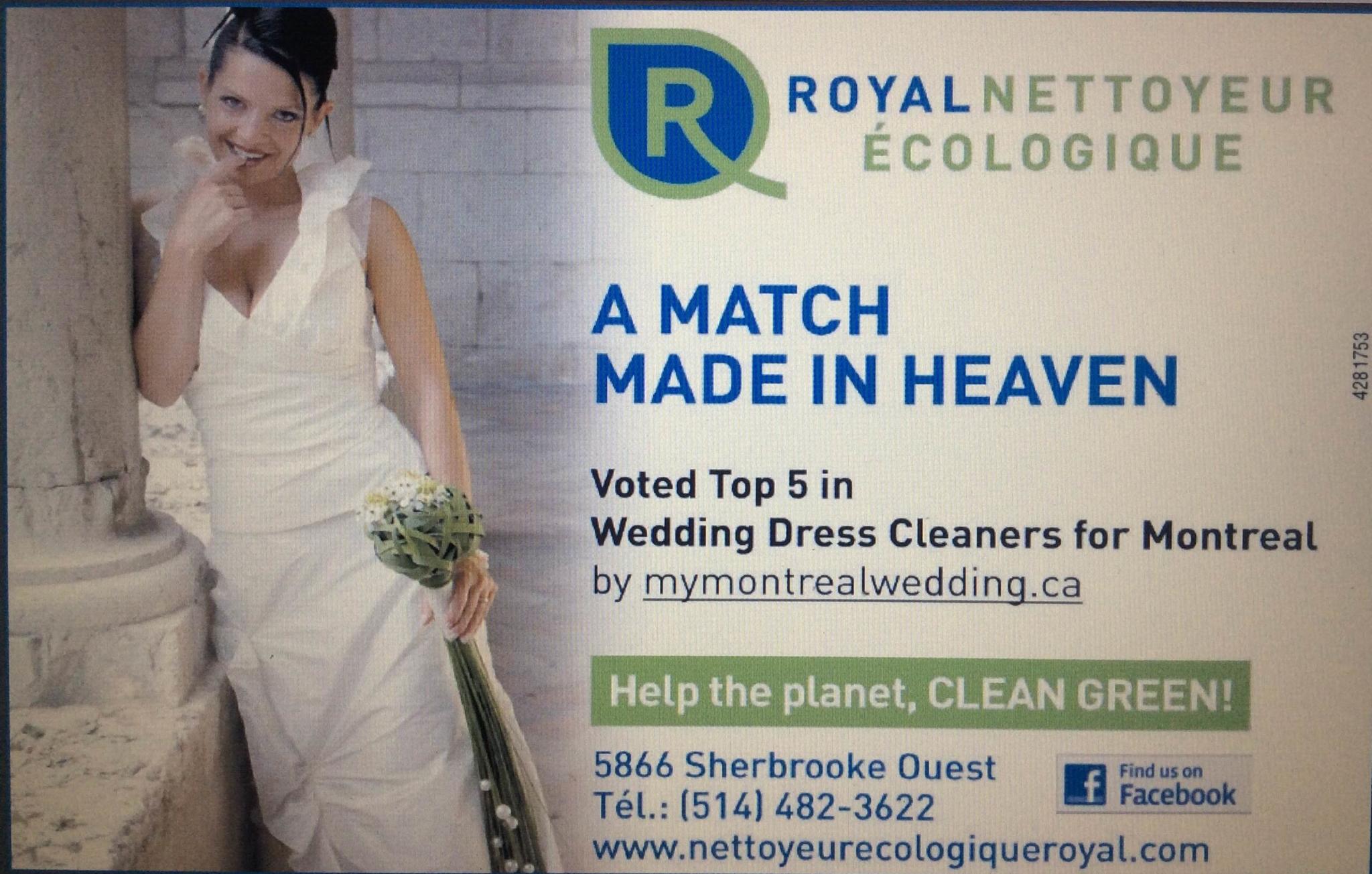 Nettoyeur Ecologique Royal à Montréal