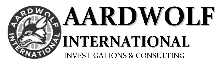 AARDWOLF INTERNATIONAL: Investigations * Protection * Consulting image 8