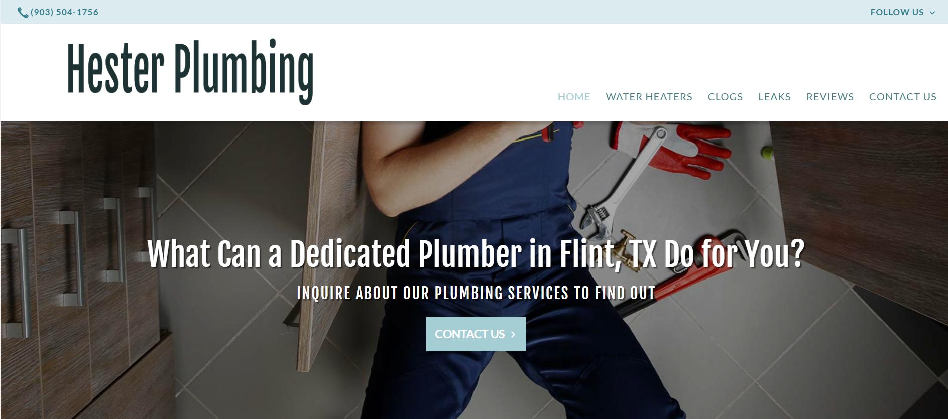 Hester Plumbing image 0
