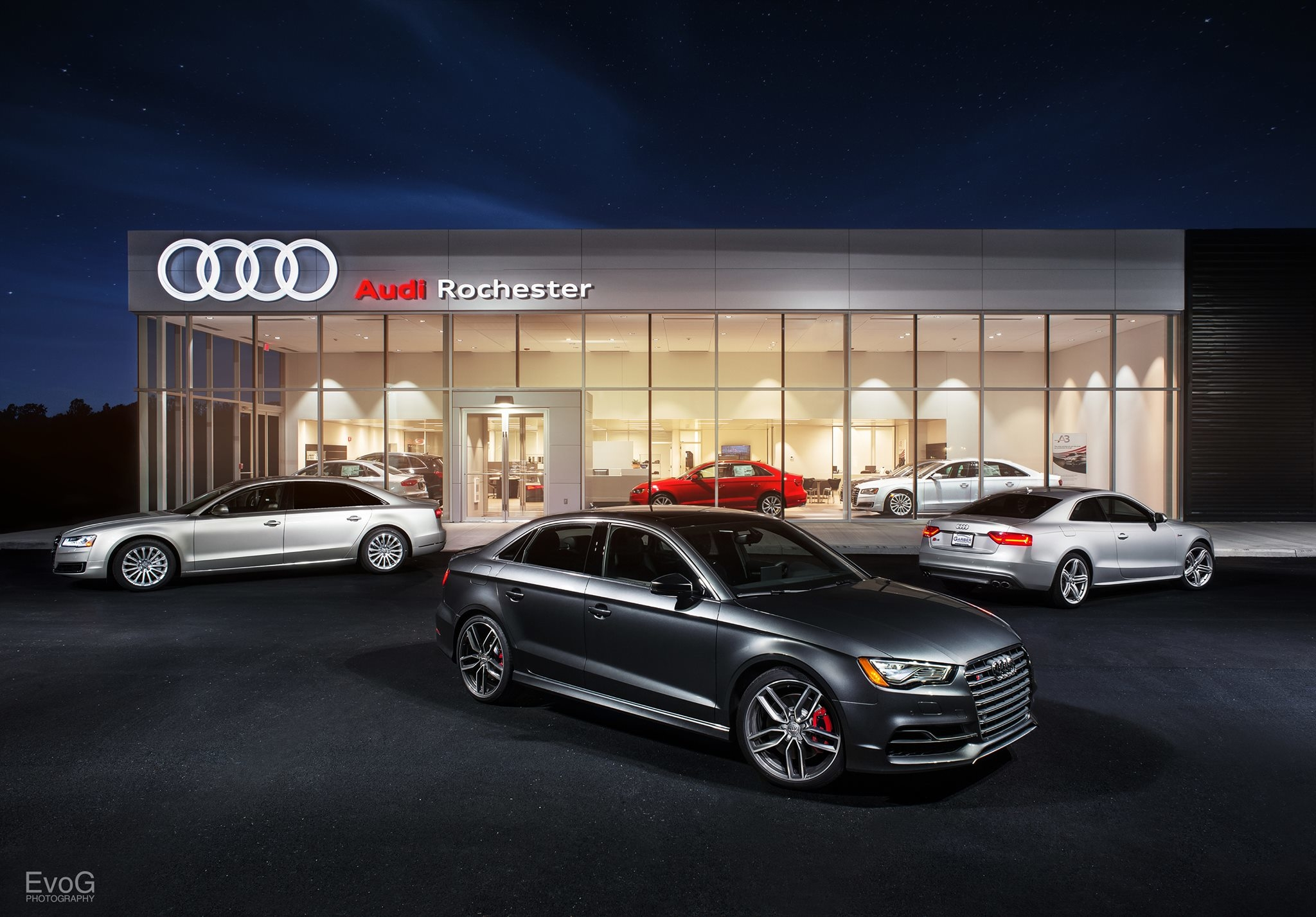 Audi rochester in rochester ny 585 334 1 for Medical motor service rochester ny