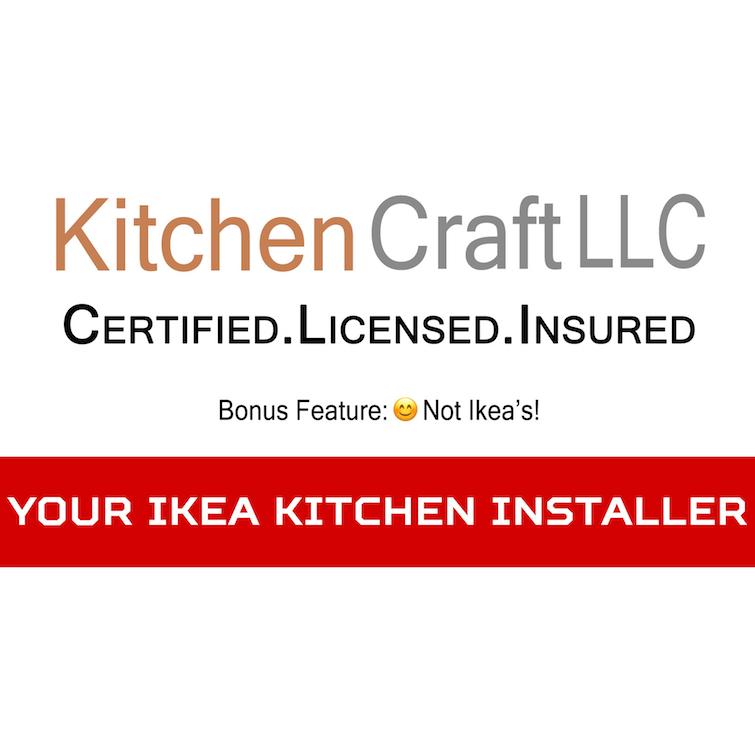 Kitchen Craft LLC Ikea Kitchen installation