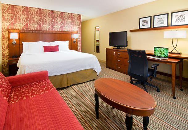 Courtyard Irvine John Wayne Airport/Orange County King Guest Room