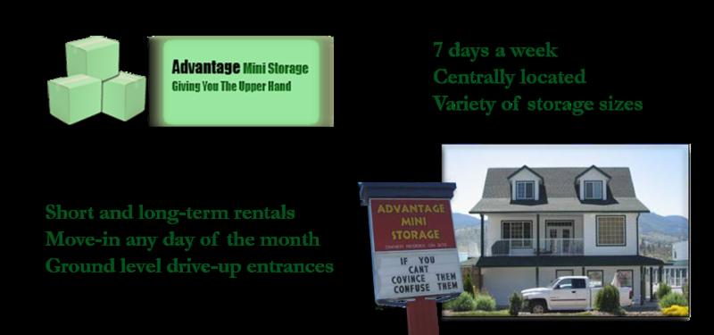 Advantage Mini Storage in Penticton