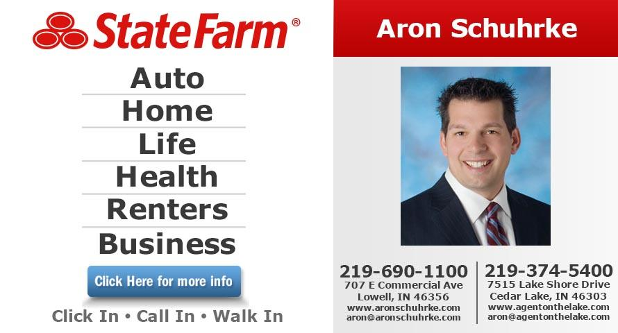 Aron Schuhrke - State Farm Insurance Agent image 0