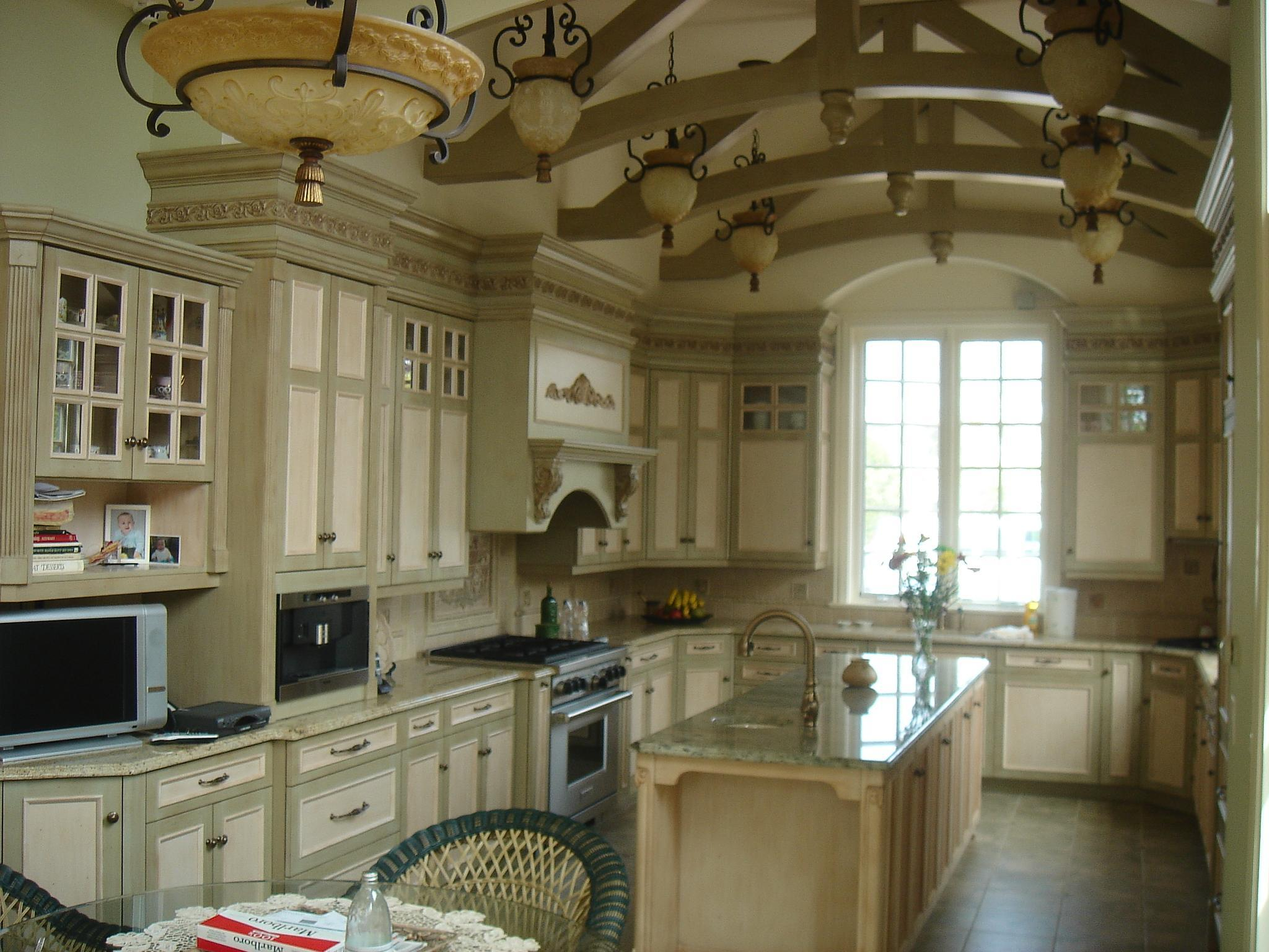Design of New kitchen with 15'-0