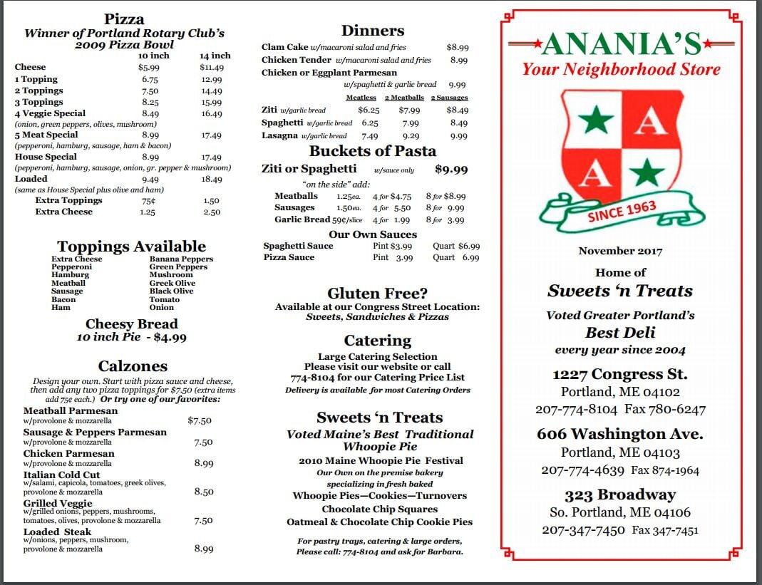 Anania's Variety image 0