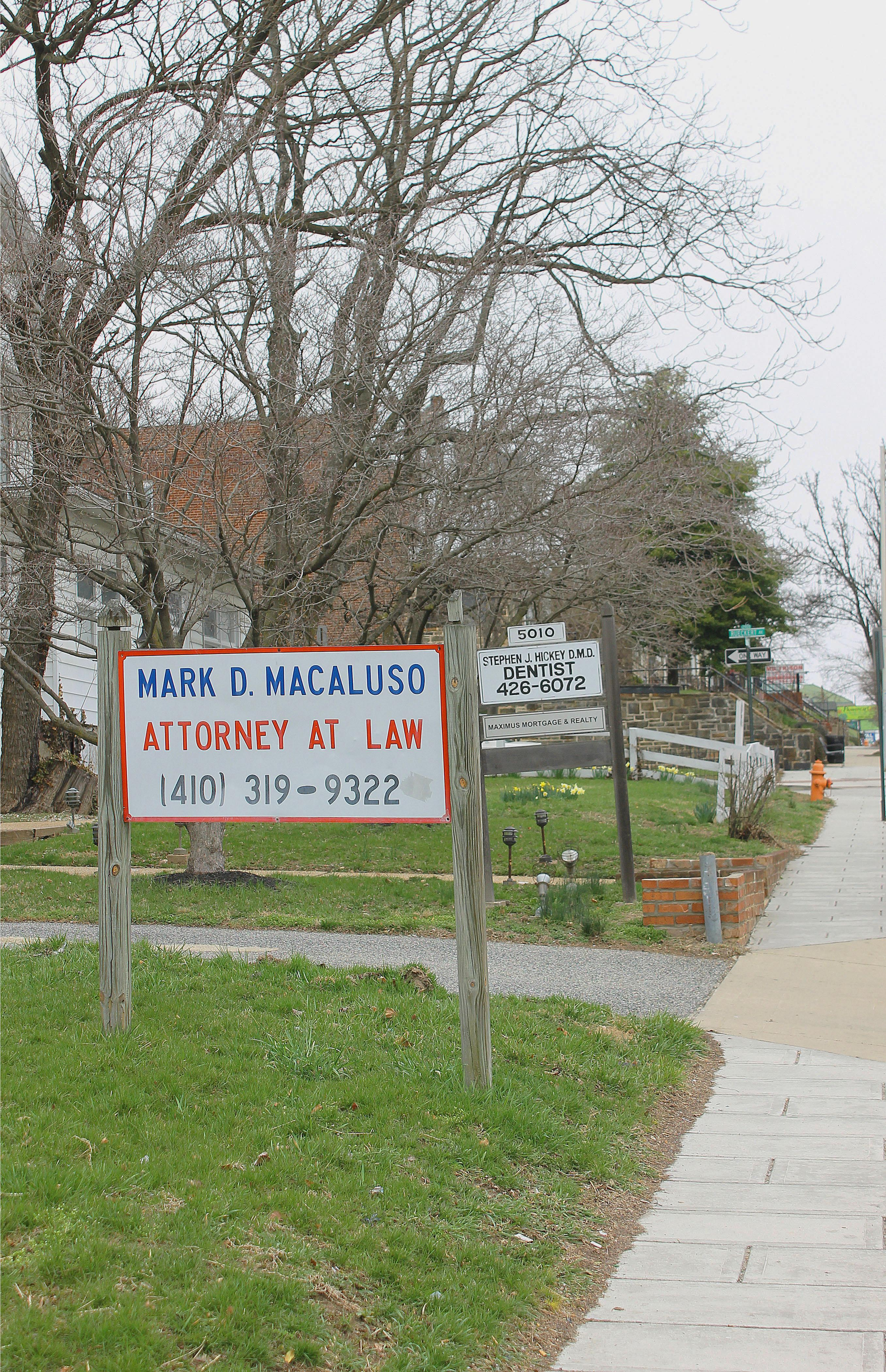 Law Office of Mark Macaluso - ad image