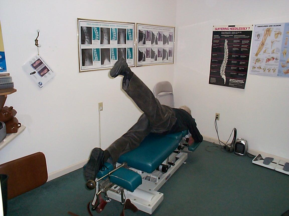 Checking pelvic and low back motion