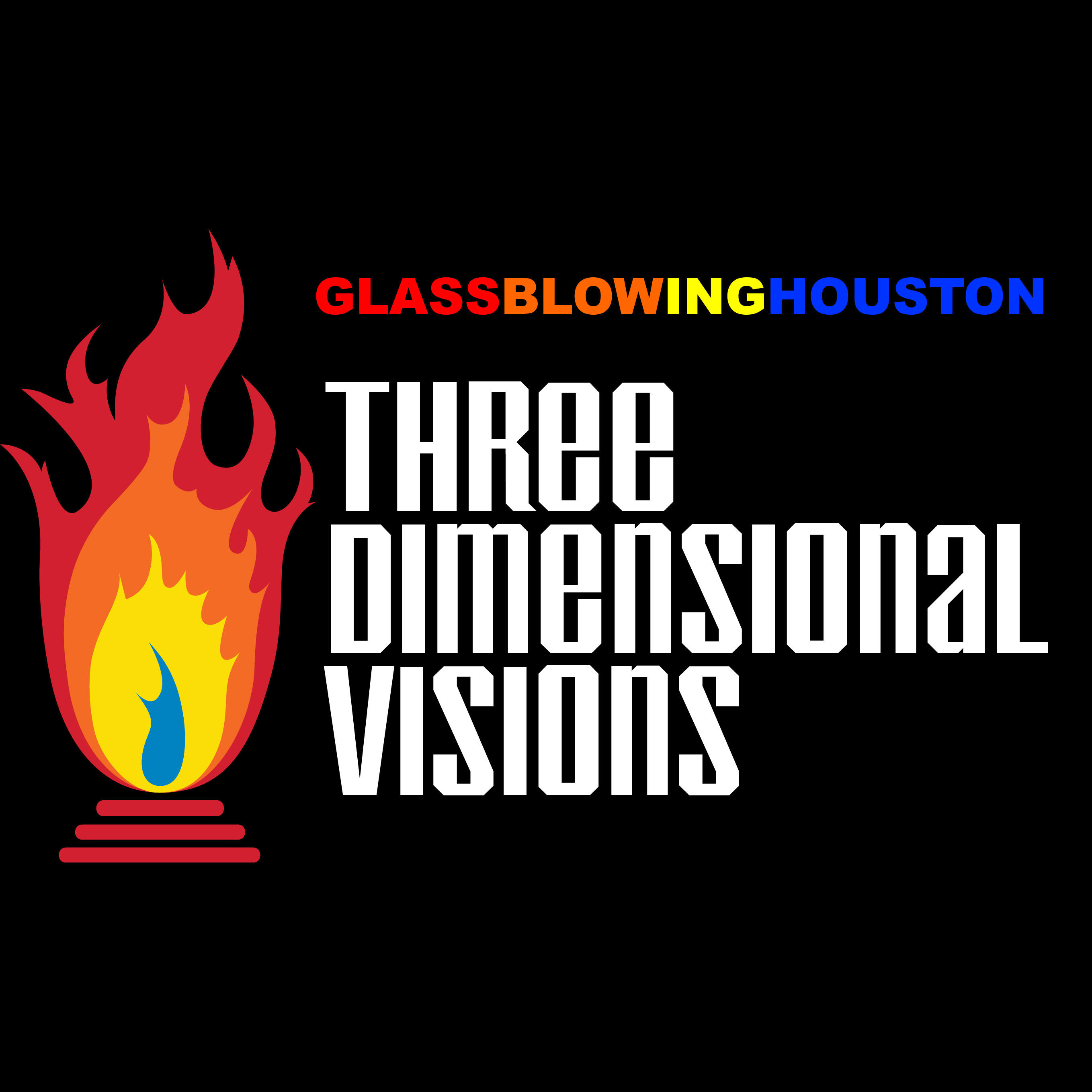 Three Dimensional Visions - Glass Blowing Houston image 15