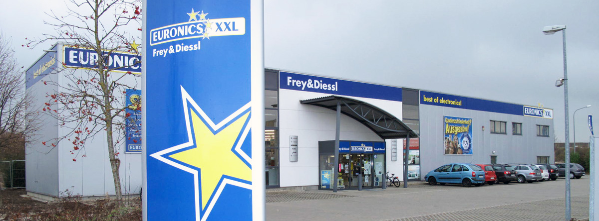 EURONICS XXL Frey & Diessl, Via Claudia 2 in Meitingen
