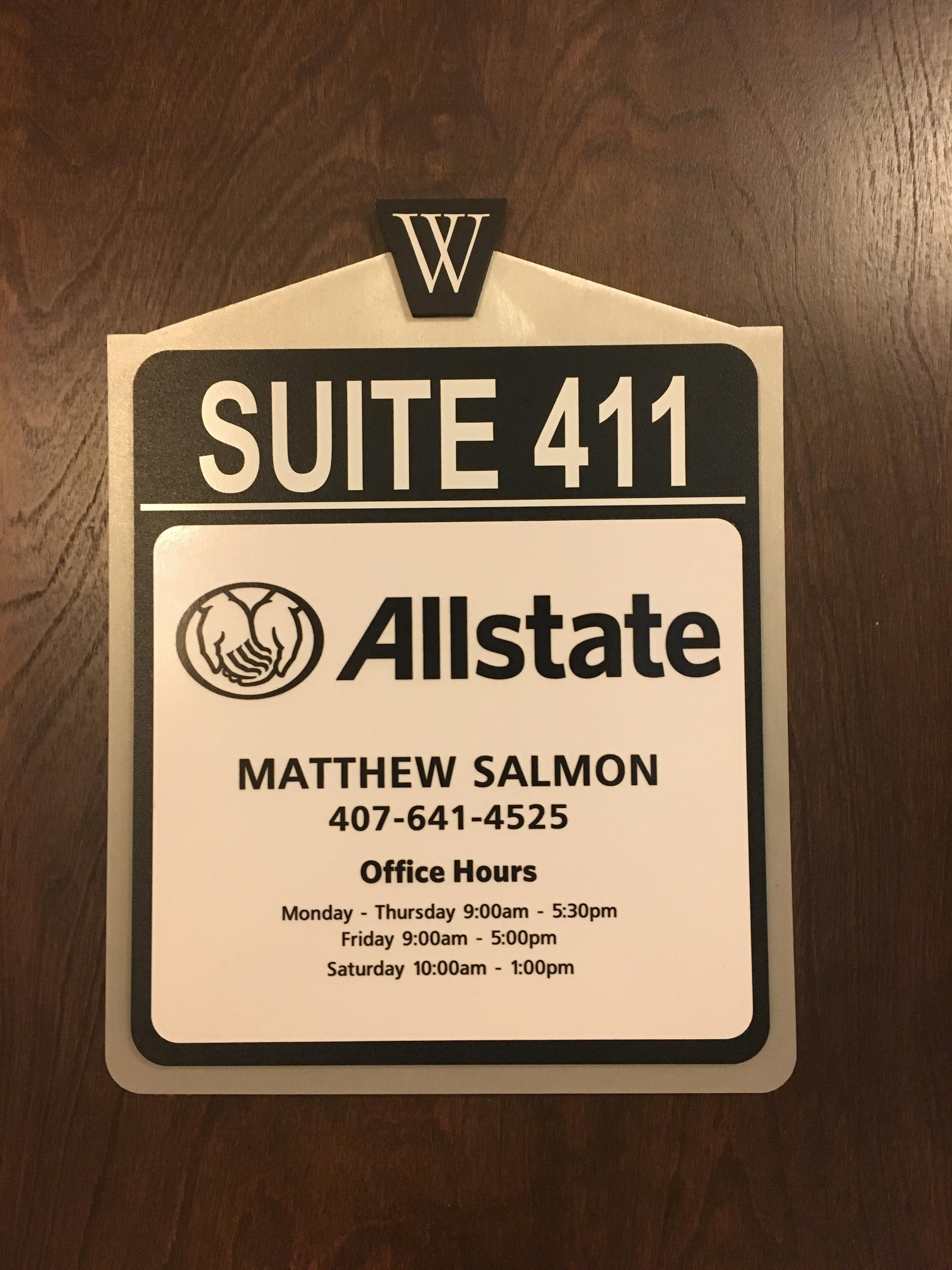 Matthew Salmon: Allstate Insurance image 5