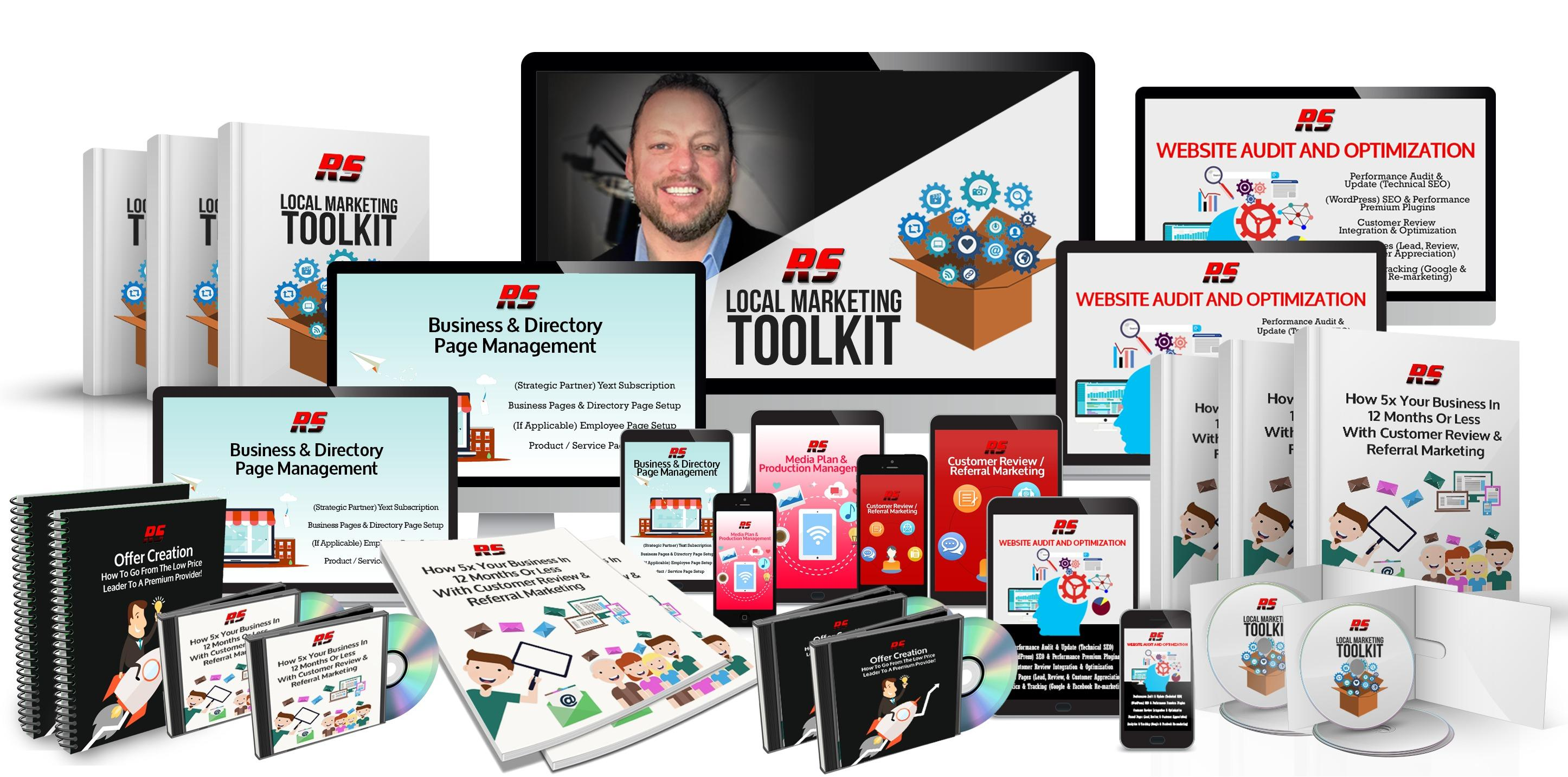 Local Marketing Toolkit - Everything you need to 5x your retail customer base in the next 12 months or less...
