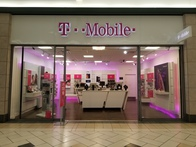 Exterior photo of T-Mobile Store at Central Mall 6, Lawton, OK