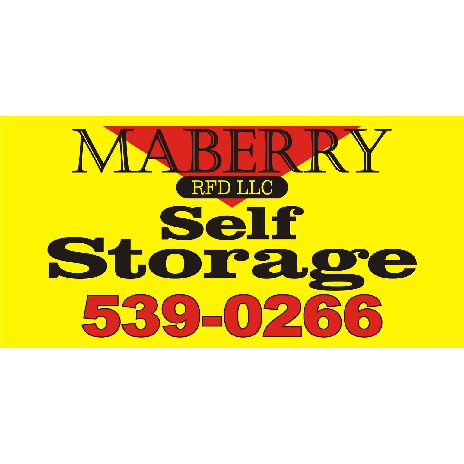 Maberry RFD Storage