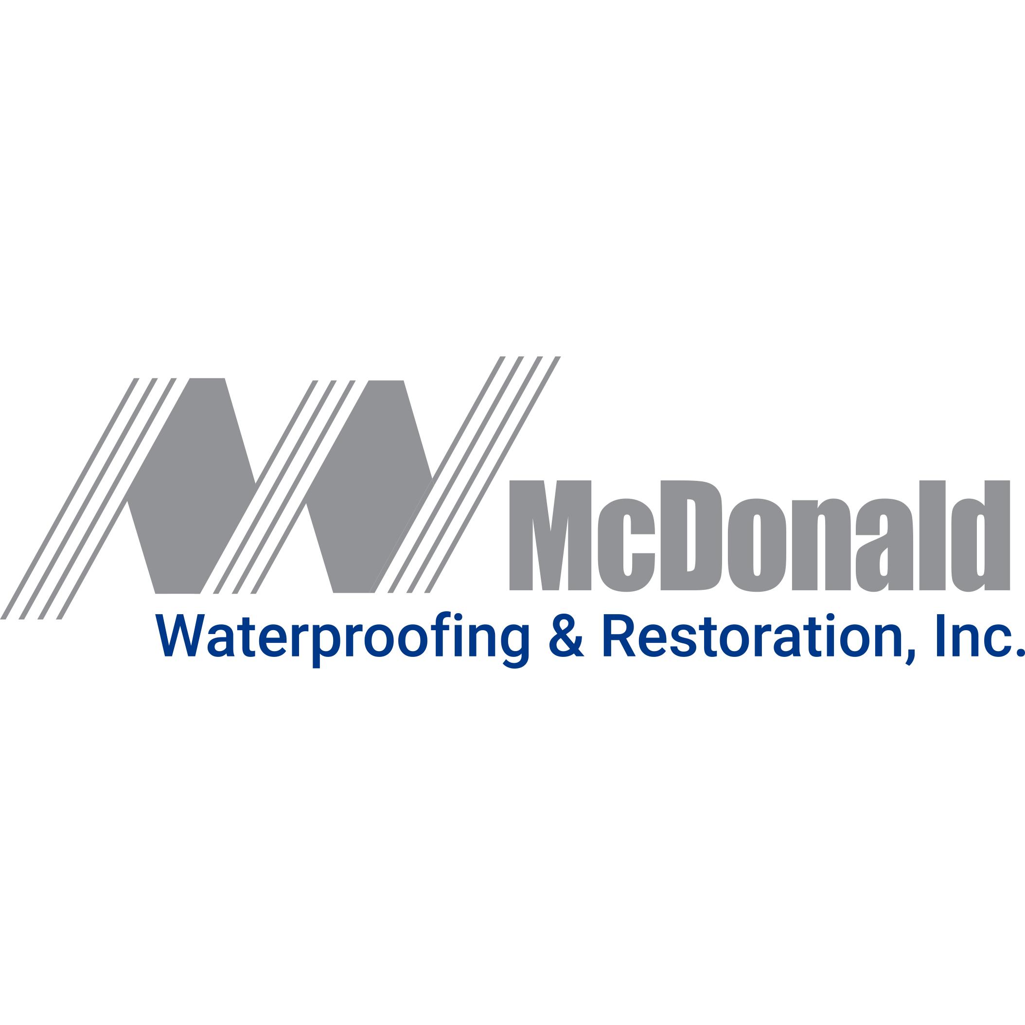 McDonald Waterproofing & Restoration