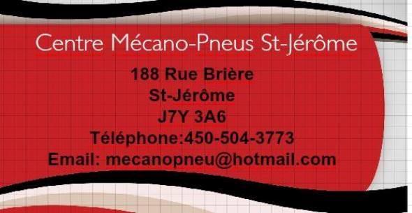 Centre Mécano-Pneus St-Jérôme