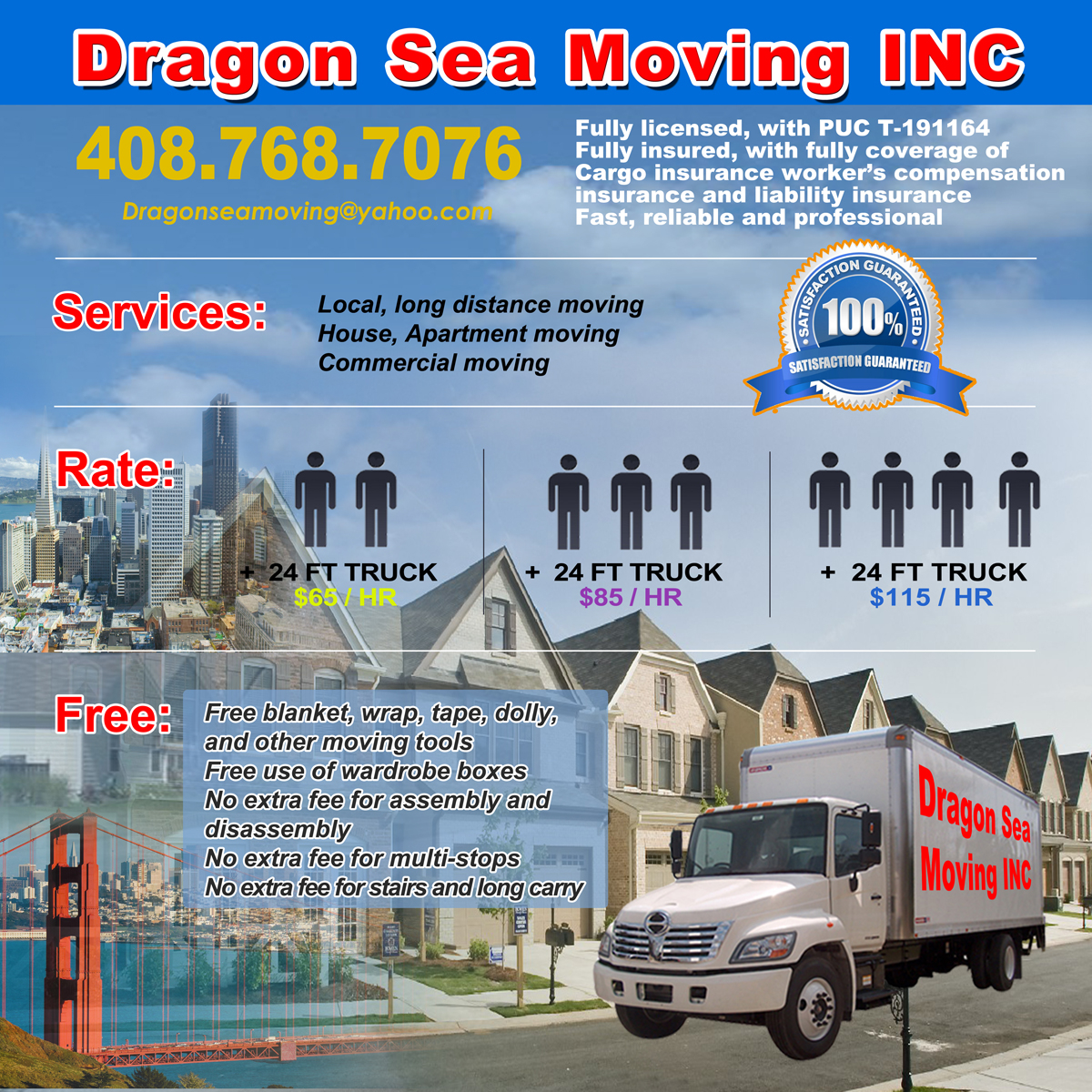 Dragon Sea Moving Inc. image 3