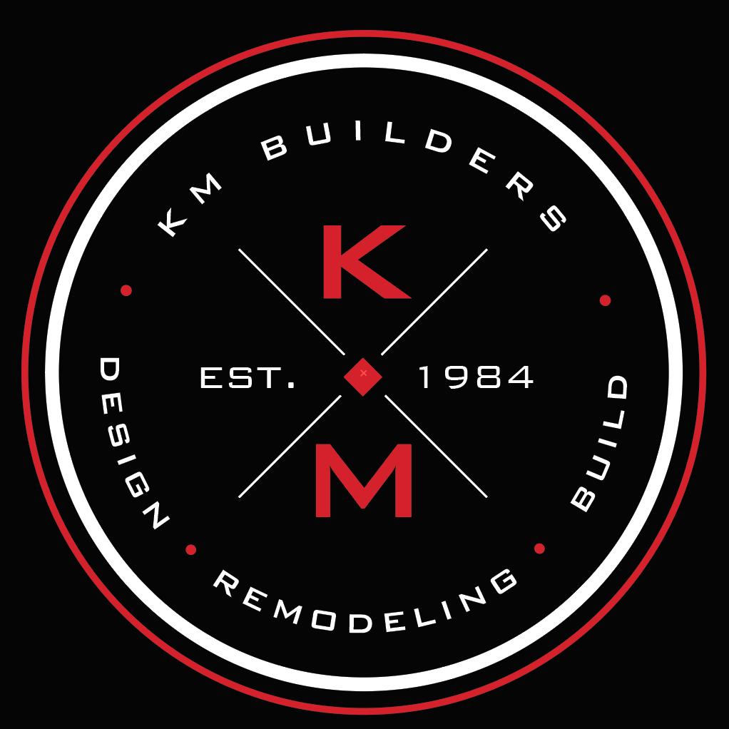 KM BUILDERS Logo