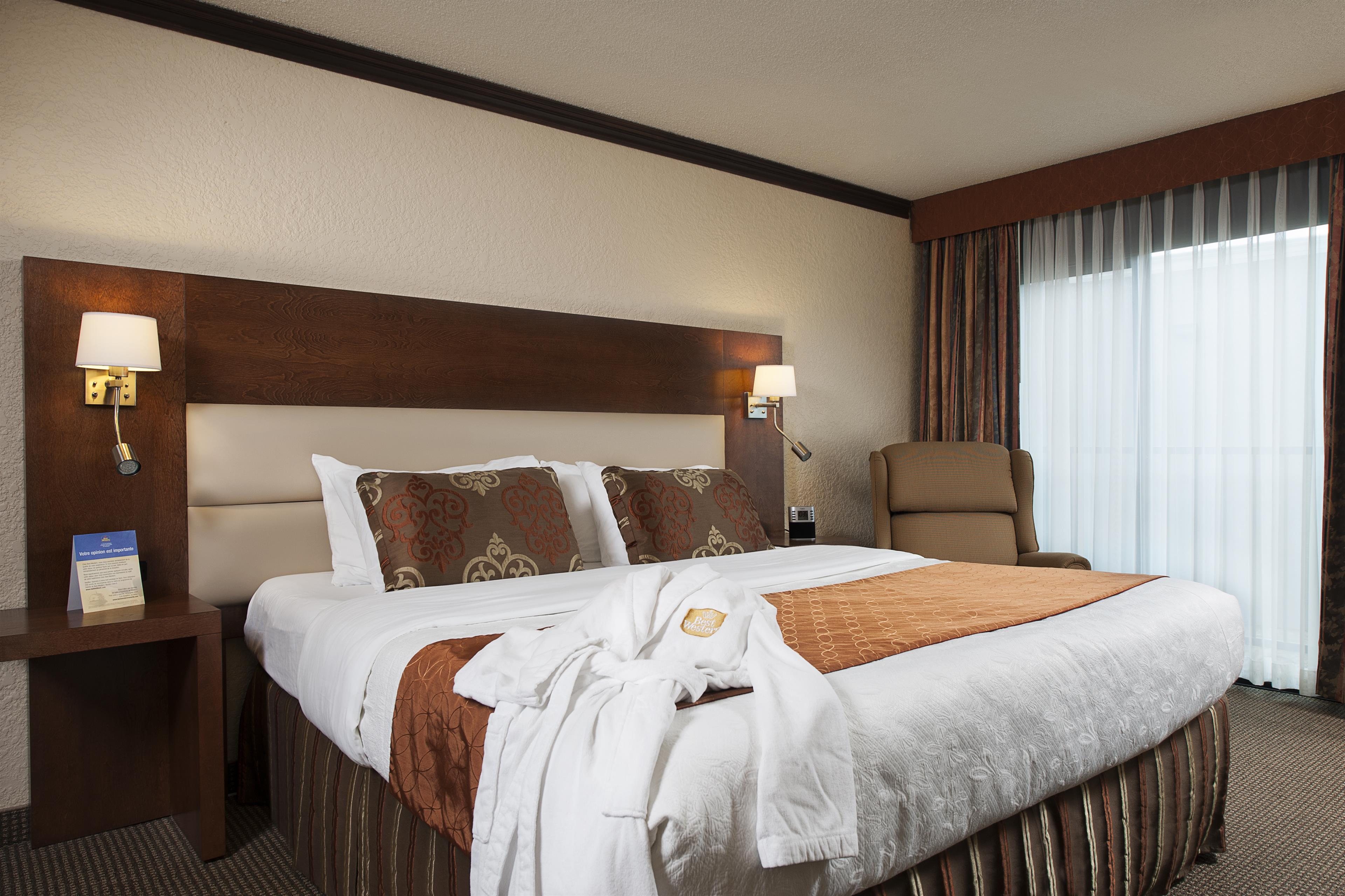 Best Western Hotel Universel Drummondville à Drummondville: Suite Queen