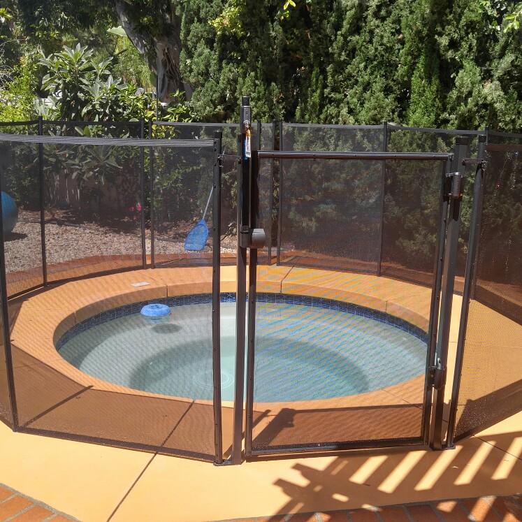 Nathans Pool Fence image 1