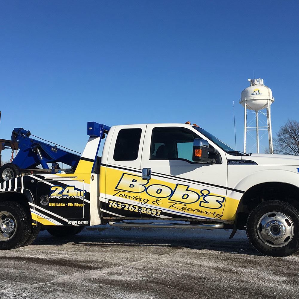Bob 39 s towing recovery inc big lake for American traveler motor club