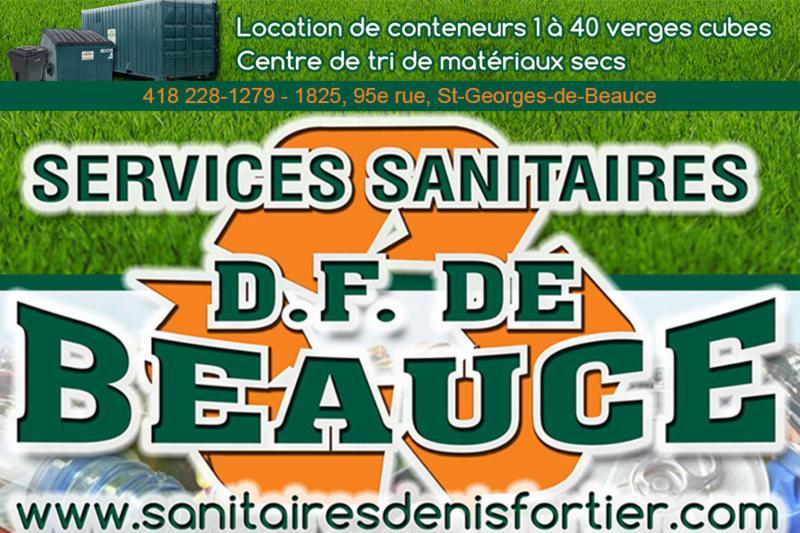 Services Sanitaires DF de Beauce Inc à Saint-Georges