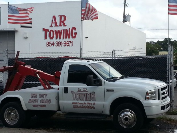 A R Towing Inc In Hollywood Fl 954 210 4157