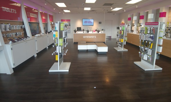 Interior photo of T-Mobile Store at Arcade & Neid 3, St. Paul, MN