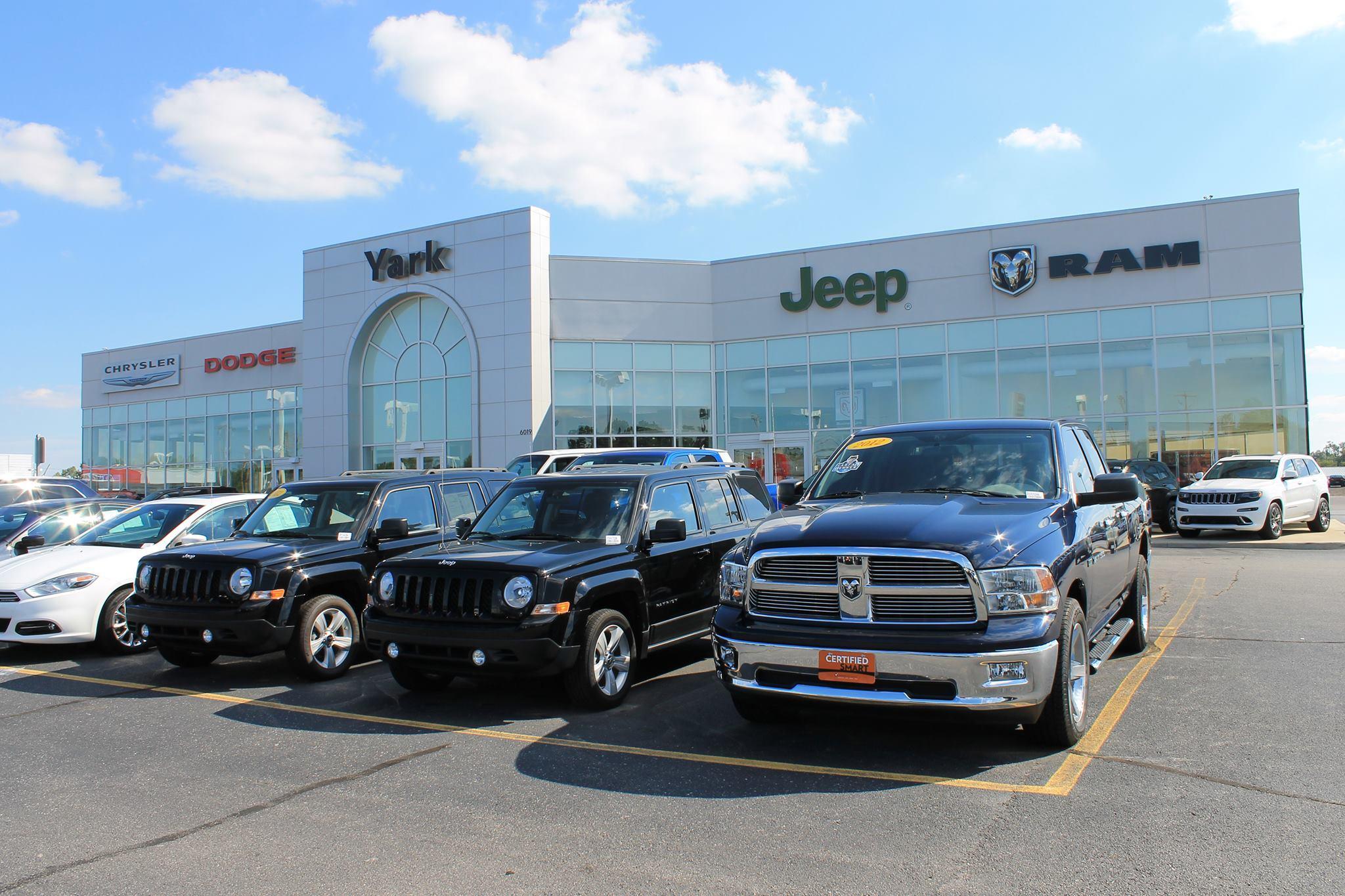 Yark Chrysler Jeep Dodge Ram 6019 West Central Avenue Toledo OH