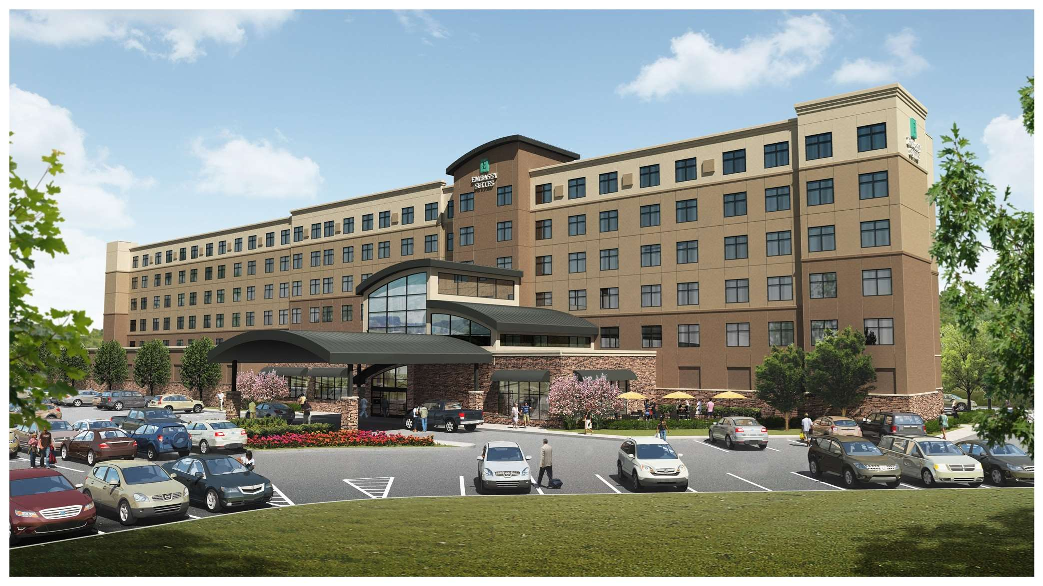 Embassy suites by hilton akron canton airport at 7883 Hilton garden inn akron canton airport