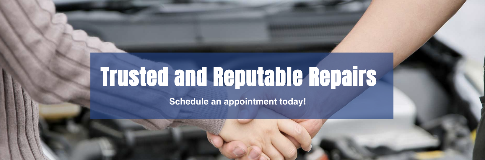 B & E Service Inc. is your trusted shop for reputable repairs