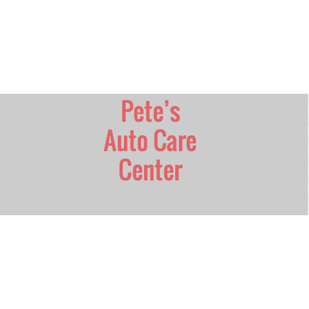 Pete's Auto Care Center