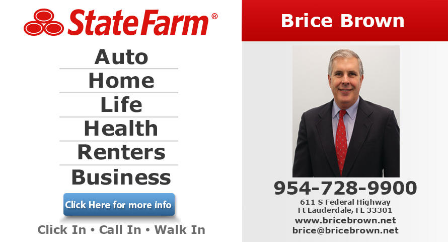brice brown state farm insurance agency coupons ft lauderdale fl near me 8coupons. Black Bedroom Furniture Sets. Home Design Ideas