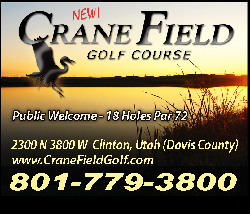 Crane Field Golf Course and Driving Range - ad image
