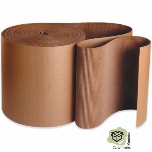 Cartonnerie Montréal Inc à Montréal: Corrugated cardboard roll