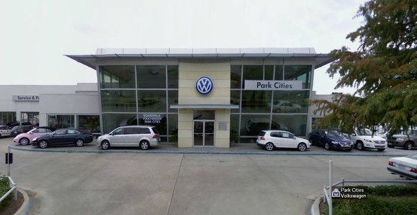 Autonation Volkswagen Park Cities In Dallas Tx 75209