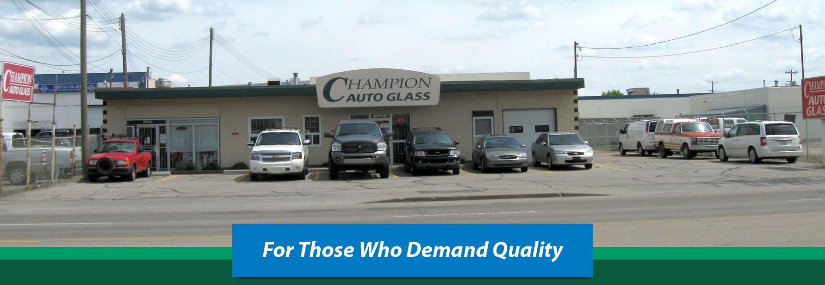 Champion Auto Glass Ltd Edmonton Ab Ourbis