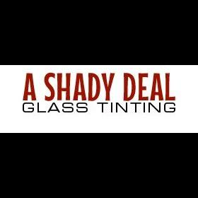 A Shady Deal Glass Tinting