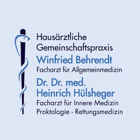 Logo von Gemeinschaftspraxis  Winfried Behrendt und Dr. Dr. med. Heinrich Hülsheger