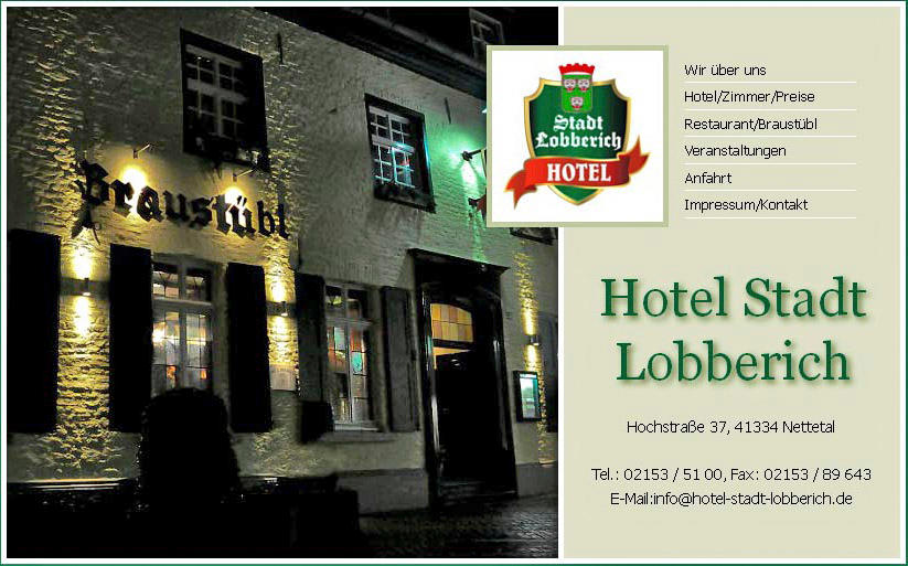 Hotel Stadt Lobberich 3 Bewertungen Nettetal Lobberich