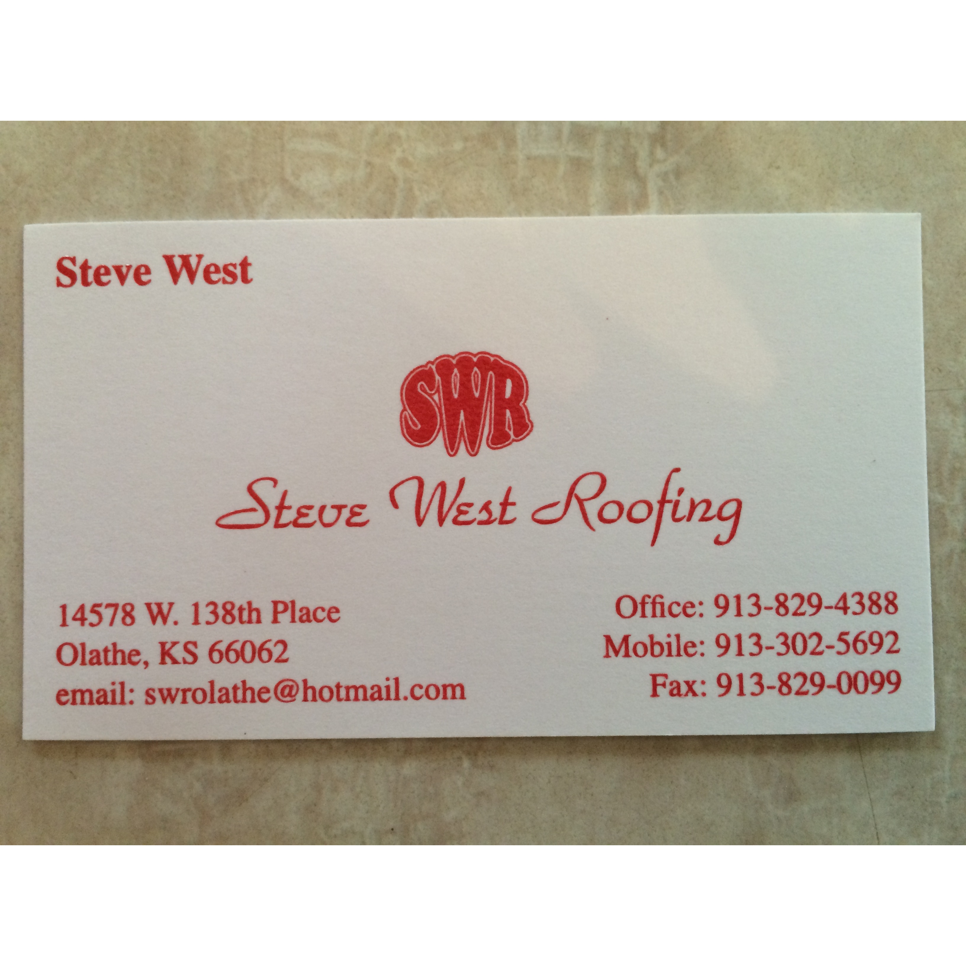Steve West Roofing
