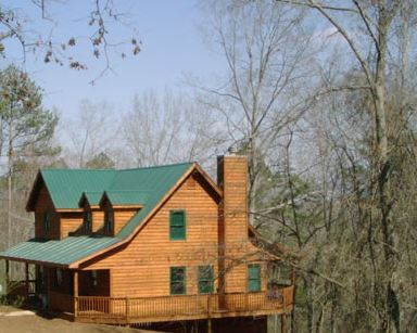 Bear Creek Log Home Restoration image 3